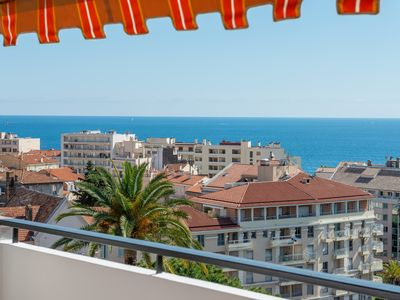 Photo for IMMOGROOM - Apartment with sea view terrace and A/C - CONGRESS/BEACHES