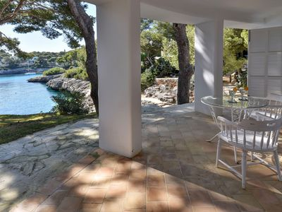 Photo for Villa in the first Sea line, direct access to the sea 300 meters to Cala Gran