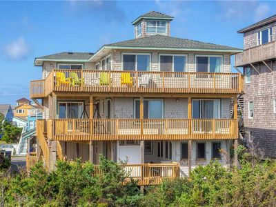 Photo for Views for Miles! Oceanfront, Avon w/ Hot Tub, Cmty Pool, Game Rm, Walk to Beach