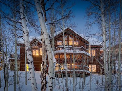 Photo for Luxury Home Located in an Aspen Grove/Views of Mt. CB, Gourmet Kitchen!