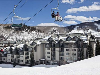 Photo for Great retreat for a ski vacation with outdoor pool, hot tub, fitness center