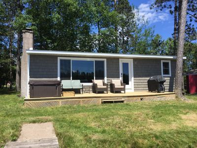 Photo for 3 Bedroom, Lakefront, swimming, fishing, ATV, boating, 20 min from Marquette
