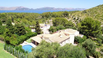 Photo for Villa for 6 adults plus babies, ideal for Families, Sea and Mountain View