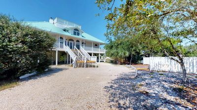 """Photo for Ready Now- No Storm Issues! Bring the Pets, Enjoy the Private Heated Pool! Beach View, Hot Tub, Free Beach Gear 5BR/4BA """"Beach Thyme"""""""