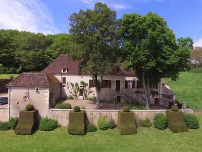Photo for Beautiful Demeure 1900 facing the Allier, located in a charming village