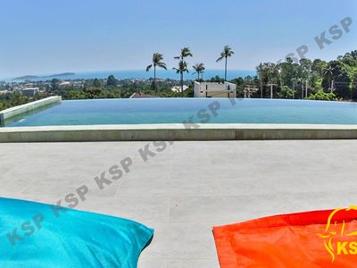 Photo for SEA VIEW VILLA, 3 BEDROOMS / 3 BEDROOMS, PRIVATE POOL IN CHAWENG NEAR THE BEACH.