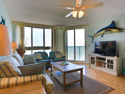 Photo for Nautical Oceanfront Condo, Outdoor Covered Heated Pool | Pinnacle - 802