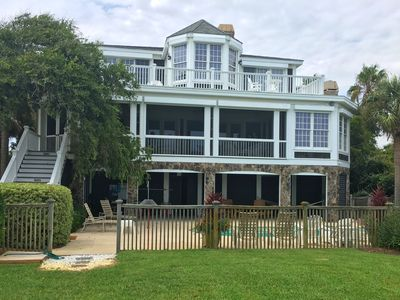 Photo for Avonlea on Isle of Palms ~ OCEAN FRONT, Private Pool & Boardwalk, Elevator