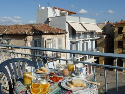 Photo for 2-bedroom Apartment With Balcony In Old Nafplio