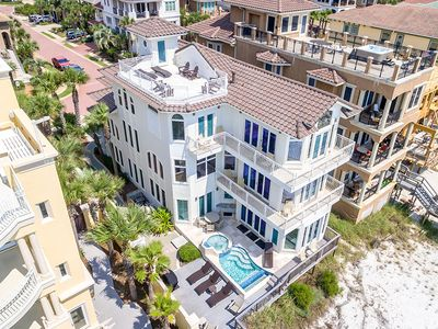 Photo for Beautiful Gulf-Front Destiny by the Sea Home w/ Private Pool & Gulf Views!