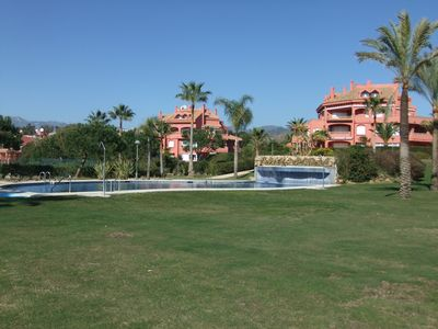 Photo for 2 bed, 2 bath 1st Floor Apt, perfect for beach holidays.  REG NO: MCVT 3665