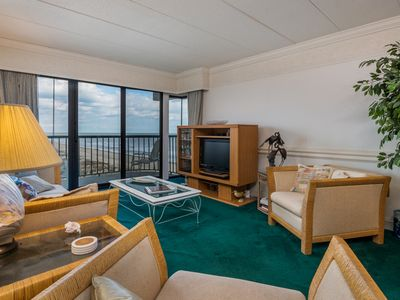 Photo for Close to North End of Boardwalk! Oceanfront (Side Unit) w/ Beautiful Views!
