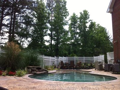 Photo for Luxury  House w/ Pool, and Secluded One-Acre Yard!