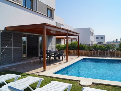 Photo for VILLA MENORCAHOME - 4 BEDROOM VILLA-600MTRS FROM THE BEACH