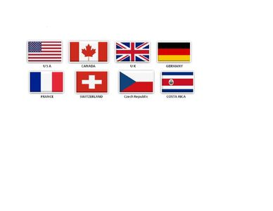 Countries of some of our guests.