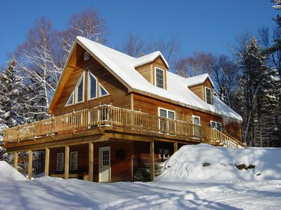 Our Country Chalet on a Bluebird Day!