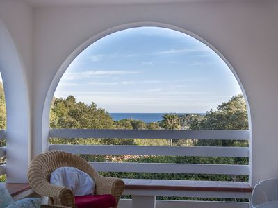 Photo for Villa with beautiful seaview and fenced garden in a quiet area