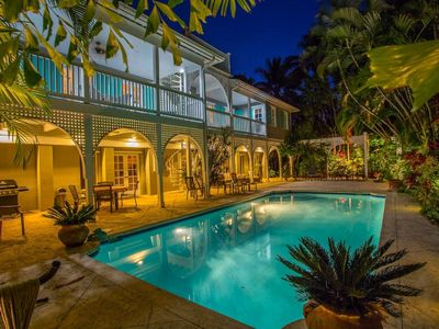 Photo for The Casa on Casa - spacious, elegant estate - large, lovely salt water pool!