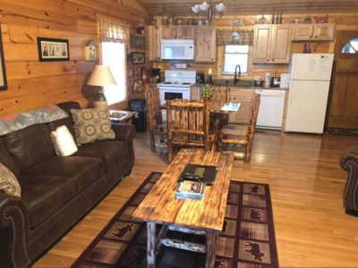 Photo for PRIVATE & SECLUDED-ROMANTIC, DANCING BEAR CABIN