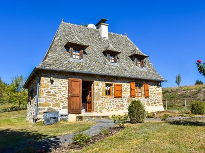 Photo for Traditional stone house in Cantal region near volcanic area!