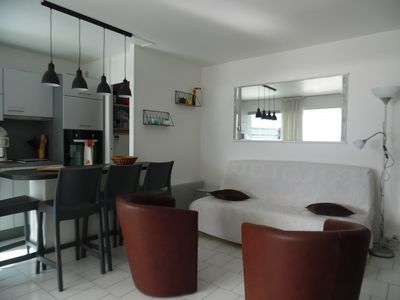 Photo for Two-room apartment Canet-Sud direct beach