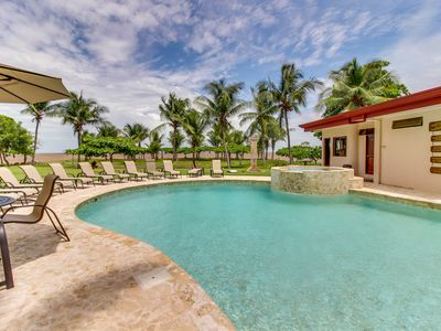 Photo for Relaxing retreat in oceanfront resort with shared pool and peek-a-boo sea views