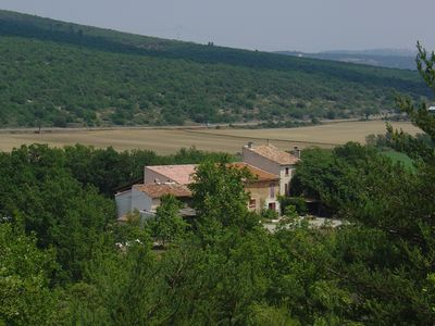 Photo for 18th century farm in the heart of Provence
