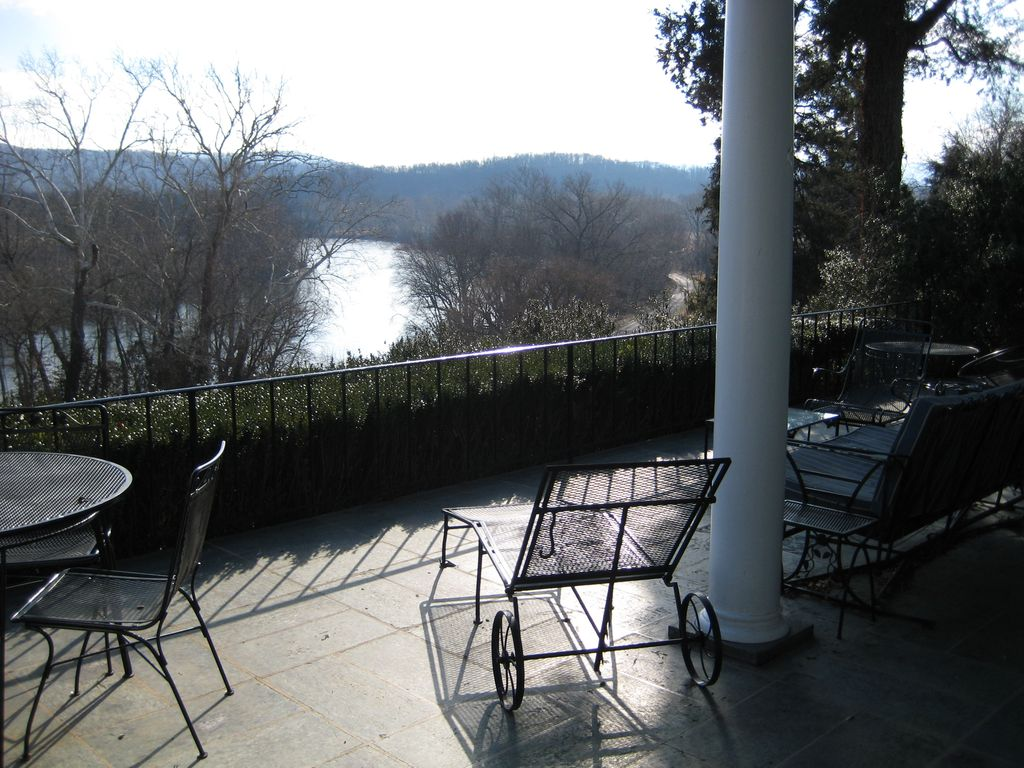 Looking Over The Shenandoah River