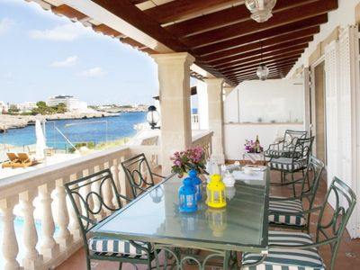 Photo for Portocolom Villa, Sleeps 8 with Pool, Air Con and WiFi