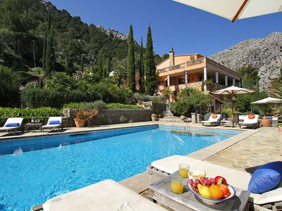 Photo for Can Punxa is a Majestic Mallorcan country villa commanding impressive views over the countryside