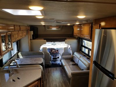 Photo for 2018 Stationary RV, sleeping space for up to 6 people.