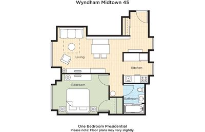 Photo for Wyndham Midtown 45 Timeshare 1 Bedroom