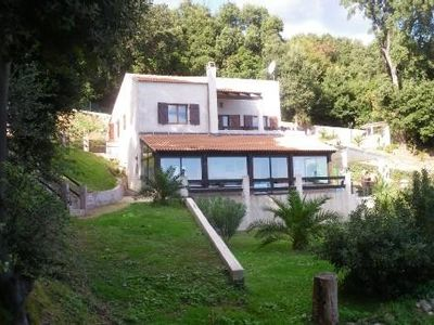 Photo for Corsica Rental, very nice ground villa stunning views of the bush and the sea