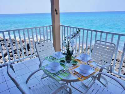Photo for Spectacular Oceanfront Views | WIFI | Affordable Ocean Front | Starting at $119/Nght