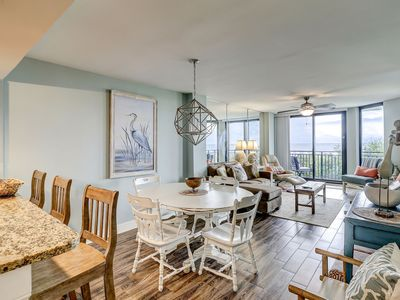 Photo for OCEANFRONT, Fully Updated Condo in Shipwatch- Pool and Playground