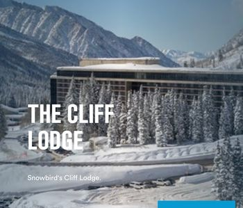 Photo for Snowbird Cliff Club Crest 2 BD Ski in-ski out Condo- Pres. Day Week ONLY!!!