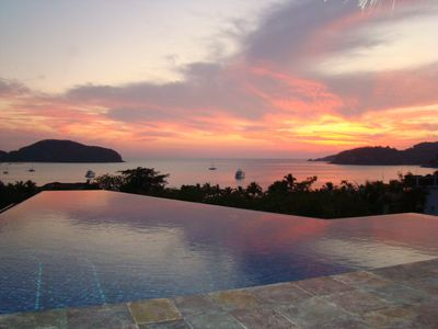 Photo for Luxury Private Home Overlooking Zihuatanejo Bay, 5 Min. Walk to Beach