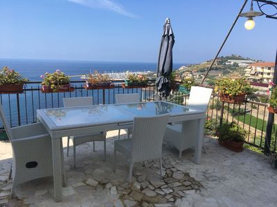 Photo for Elegant house with sea view. Located near the beaches and bike path