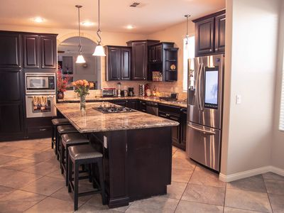 Modern 5 Bed, 3 Bath Home In a gated community mins from the strip!