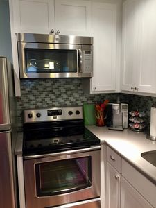 Electric stove and microwave
