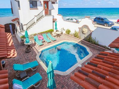 """Photo for Courtyard Villa """"Acapulco"""" with a/c and pool"""