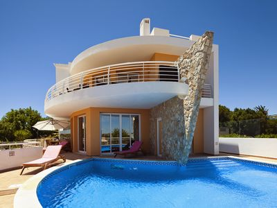 Photo for 4 Bedroom Villa Private Pool, Huge Games Room Amazing Beach Views