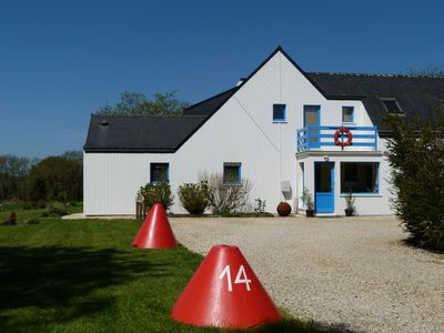 Photo for Villa of character, 3 minutes from the port of la Trinité sur Mer.
