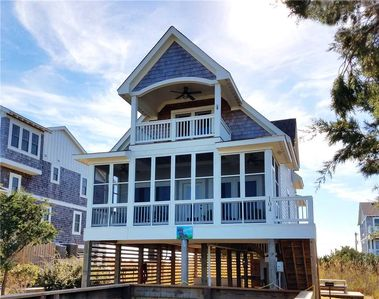 Photo for Adicus House:  Close to Ocracoke's beaches, panoramic views from decks