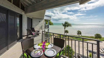 Photo for **NEPTUNE'S PENTHOUSE @ THE BEACH** Oceanfront Condo / Pool + LAST KEY SERVICE.