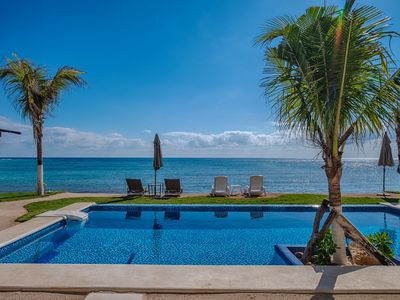 Photo for LUXURY STUDIO ON BEACH WITH POOL! NIKTE-HA 1A