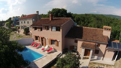 Photo for Villa Palazzina Burjaki - 4 BR, 5 BA, private Pool, Sauna, Gym&Whirlpool