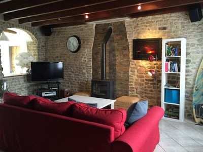 Photo for Vendée in a charming village, 5 km from the beaches, all home comforts
