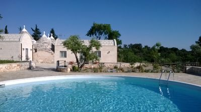 Photo for Stunning Newly Renovated Trullo With Private Pool In Alberobello countryside