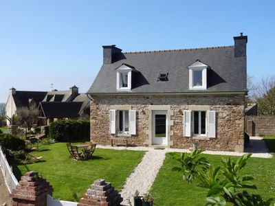 Photo for 300m from the SEA, Breton house with large garden and sea view - WIFI